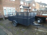 TRAILER 10.FT X 5.FT use for garden waste etc.