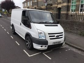 Ford transit 2001 with 2009 front end covershion