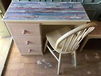 Dressing Table with Seat