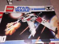 Lego Star Wars V-19 Torrent Fighter