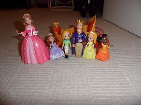 Sofia the first and family figures