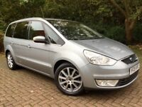 FORD GALAXY TDCi GHIA 6G**7 SEATER**LEATHERS**XENONS**P/SENSORS**S/HISTORY**