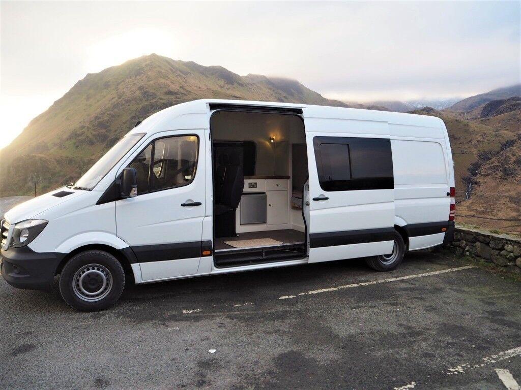 mercedes sprinter campervan motorhome low mileage in. Black Bedroom Furniture Sets. Home Design Ideas