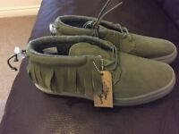 Mens One-O-One Suede Shoes RRP £84.99   £25   BRAND NEW  