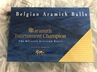 Belgium Aramith 'Tournament Champion' Snooker Balls