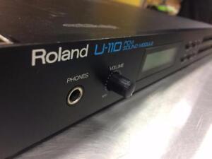 Module de son Vintage midi ''PCM card'' ROLAND U-110 ***Testé et Garanti*** #F025275