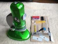 Edu Science Quick-Switch Microscope in green