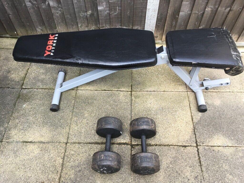 York Fitness 13 In 1 Utility Bench In Greenwich London Gumtree