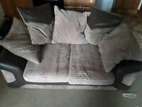 3 + 2 seater jumbo cord sofas