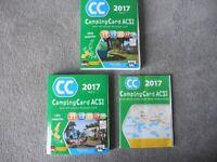 2017 ACSI camping card + 2 books new unused