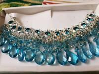 Stunning statement jewellary in blue