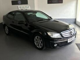 MERCEDES BENZ CLC200 2.1/CDI/ COUPE/FULL MOT/6 MONTHS WARRANTY