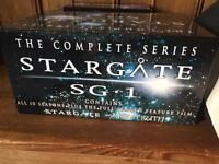 Stargate SG.1 Complete series 1 - 10 with feature film The Ark of Truth.