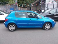 Peugeot 307 1.6 16v S 5dr ******1 LADY OWNER FROM NEW 05/05******