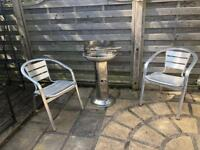 BBQ AND TWO CHAIRS