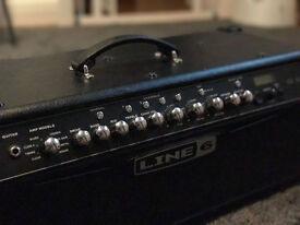 Line 6 Spider IV HD 150W Modeling Amp Head