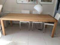 Habitat radius dining table