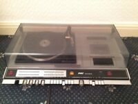 ***1970's GEC SOUND DECK WITH TURNTABLE/CASSETTE PLAYER***