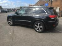 REDUCED !!! Jeep Grand Cherokee Overland (15 reg))
