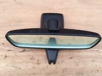 Ford Fiesta ST (02-08) REAR VIEW MIRROR (Breaking Spares) light sensor surround Zetec S mk6 mk7
