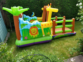 Used Bouncy Castle to suit children up to about 4 years old