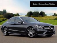 Mercedes-Benz C Class C250 BLUETEC AMG LINE PREMIUM (grey) 2015-07-17