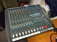 StudioMaster 708 Mixing desk with built in 700watt amplifier Powerhouse Vision
