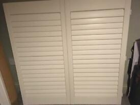 Plantation Shutters brand new z frames 4 doors x2 bi fold