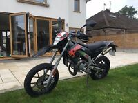 Aprilia SX 50 Motorcycle. Learner Legal. Years MOT. 2014. See Description