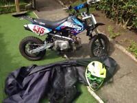 Stomp motorbike