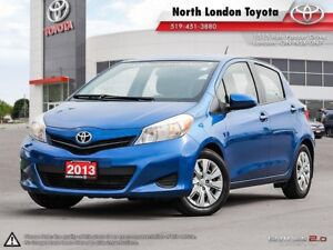 2013 Toyota Yaris LE One Owner, No Accidents, Toyota Serviced