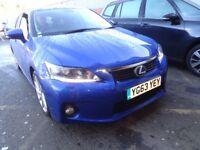 LEXUS CT 200h 1.8 Premier 5dr CVT Auto (blue) 2013