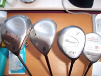 3 woods for sale - individually or together