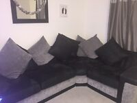 Corner sofa and swivel chair £350 or £400 for delivery