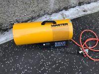Master diesel space heater .. master gas heater