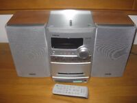 Sony Mini Hifi system with CD, MP3 playback, Tape and Radio in Excellent condition