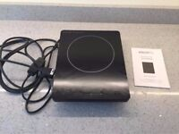Excellent condition portable induction hob