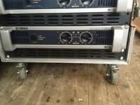 Yamaha p2500s professional power amp