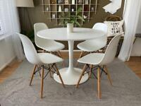 Dining table, white, round, IKEA Docksta RRP £129