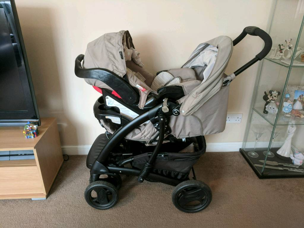 Graco Quattro Tour Travel System Bear And Friends