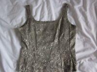 Littlewoods Eveningwear Tailored Vest Top.