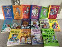 Selection of Horrid Henry Books & Just William Books