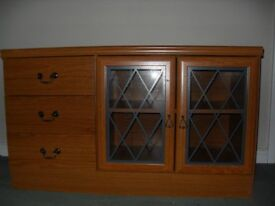 TV Cabinet - Wooden in Excellent Condition ( 2 available)