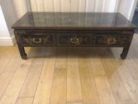 Chinese antique style cabinet /coffee table