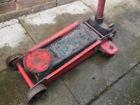 Heavy duty trolley jack 3 ton