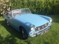 MG Midget 1972 with Overdrive,Road Tax and MOT exempt, Iris Blue
