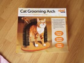 New Cat Grooming Arch