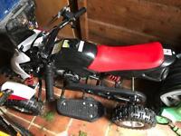 Kids quad bike/ Helmet and kit