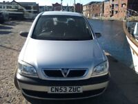 For sale vaxhall zafira 7 seater 1.6 petrol