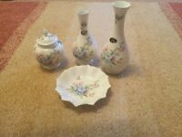 Aynsley China, Celeste collection, 4 pieces
